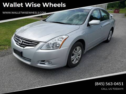 2010 Nissan Altima for sale at Wallet Wise Wheels in Montgomery NY