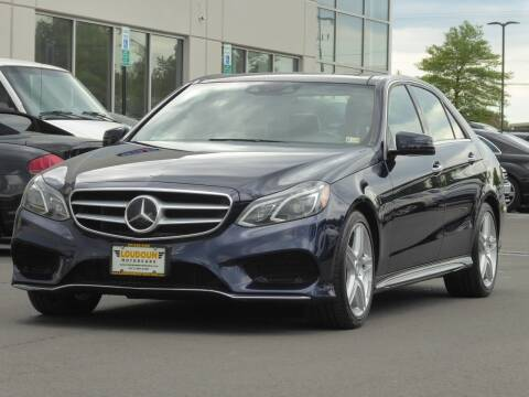 2014 Mercedes-Benz E-Class for sale at Loudoun Used Cars - LOUDOUN MOTOR CARS in Chantilly VA
