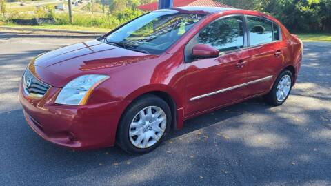 2012 Nissan Sentra for sale at AMG Automotive Group in Cumming GA
