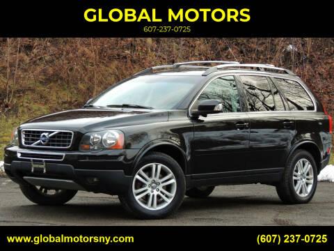 2012 Volvo XC90 for sale at GLOBAL MOTORS in Binghamton NY