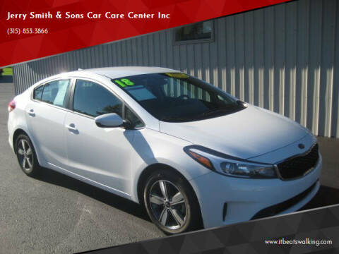 2018 Kia Forte for sale at Jerry Smith & Sons Car Care Center Inc in Westmoreland NY