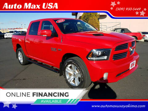 2016 RAM Ram Pickup 1500 for sale at Auto Max USA in Yakima WA