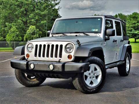 2011 Jeep Wrangler Unlimited for sale at Speedy Automotive in Philadelphia PA