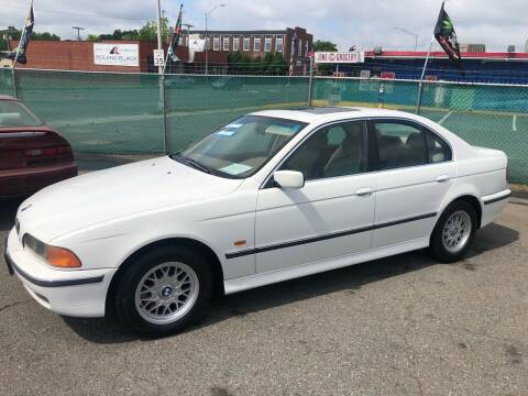 1997 BMW 5 Series for sale at LINDER'S AUTO SALES in Gastonia NC