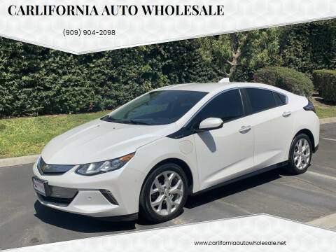 2016 Chevrolet Volt for sale at CARLIFORNIA AUTO WHOLESALE in San Bernardino CA