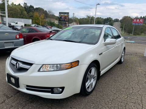 2007 Acura TL for sale at G & G Auto Sales in Steubenville OH