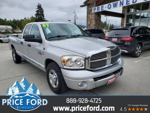 2007 Dodge Ram Pickup 3500 for sale at Price Ford Lincoln in Port Angeles WA