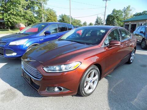 2015 Ford Fusion for sale at SUMMIT TRUCK & AUTO INC in Akron NY