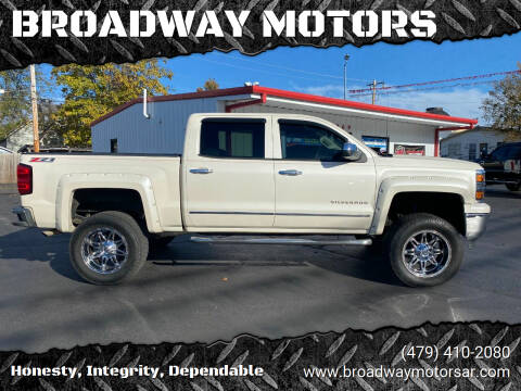 2014 Chevrolet Silverado 1500 for sale at BROADWAY MOTORS in Van Buren AR