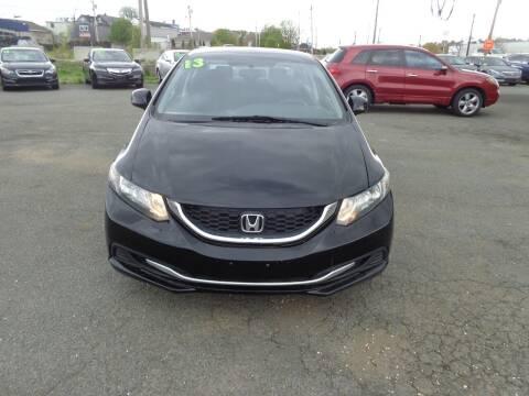 2013 Honda Civic for sale at Merrimack Motors in Lawrence MA