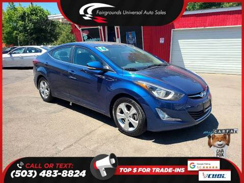2016 Hyundai Elantra for sale at Universal Auto Sales in Salem OR