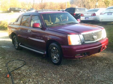2006 Cadillac Escalade EXT for sale at WEINLE MOTORSPORTS in Cleves OH