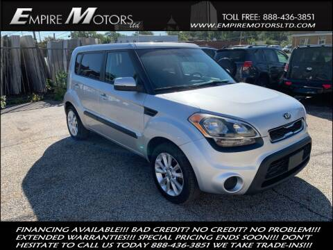2013 Kia Soul for sale at Empire Motors LTD in Cleveland OH