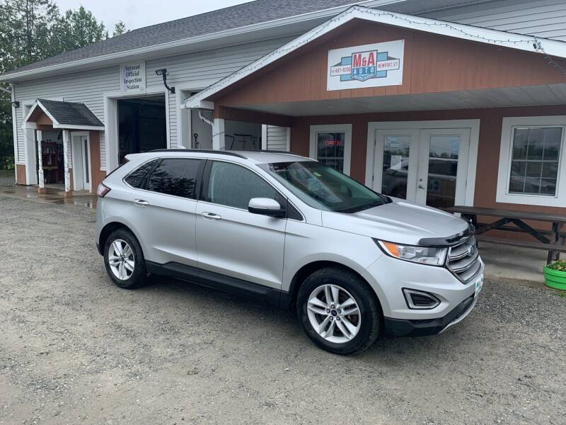 2015 Ford Edge for sale at M&A Auto in Newport VT