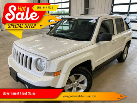 2015 Jeep Patriot for sale at Government Fleet Sales in Kansas City MO