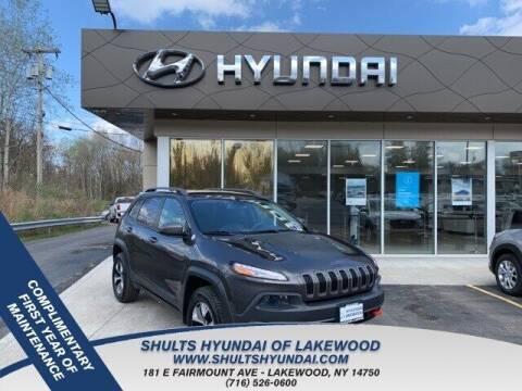 2014 Jeep Cherokee for sale at Shults Hyundai in Lakewood NY