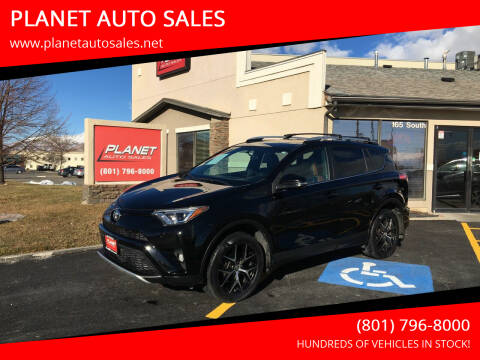 2016 Toyota RAV4 for sale at PLANET AUTO SALES in Lindon UT