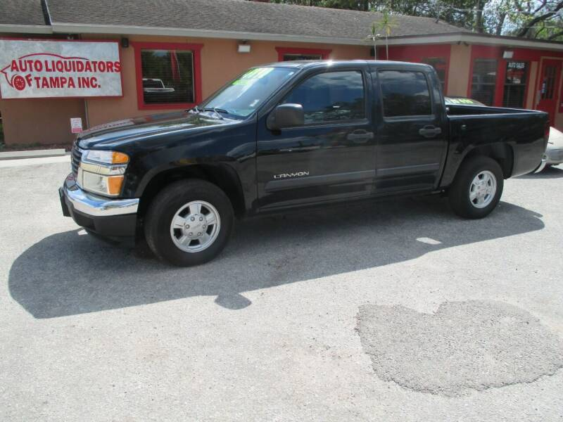 2005 GMC Canyon for sale at Auto Liquidators of Tampa in Tampa FL
