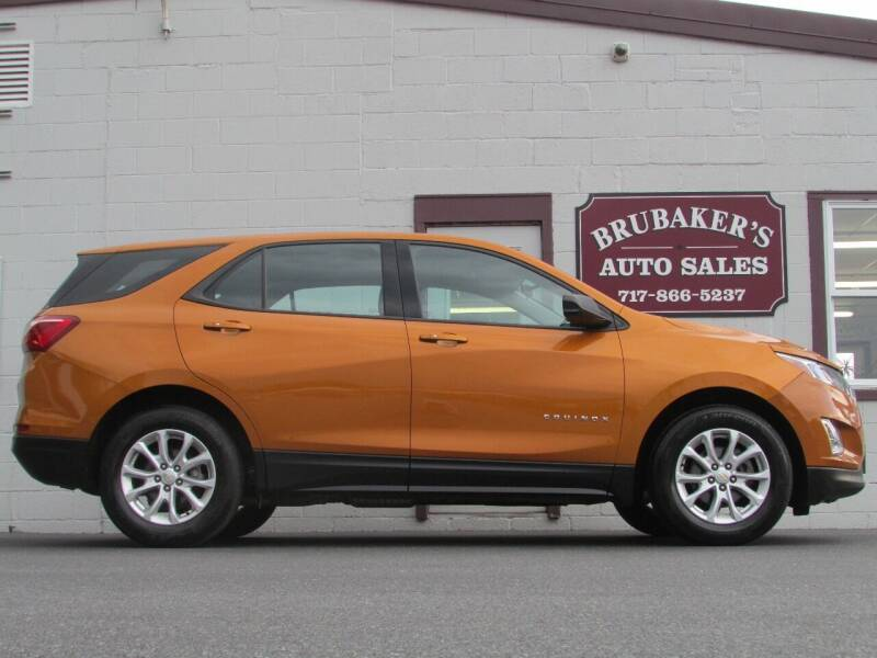 2019 Chevrolet Equinox for sale at Brubakers Auto Sales in Myerstown PA
