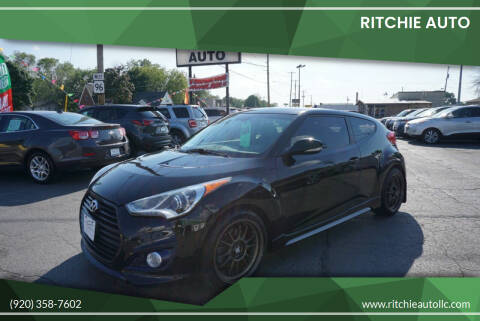 2014 Hyundai Veloster for sale at Ritchie Auto in Appleton WI