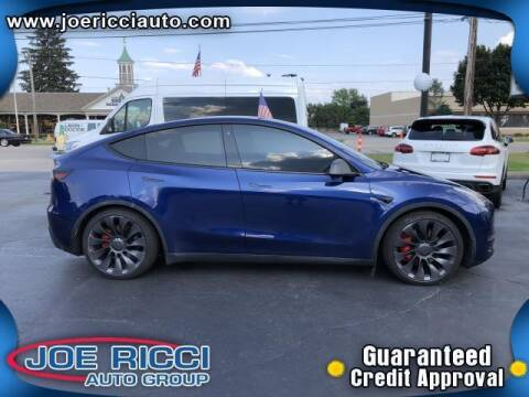 2020 Tesla Model Y for sale at JOE RICCI AUTOMOTIVE in Clinton Township MI