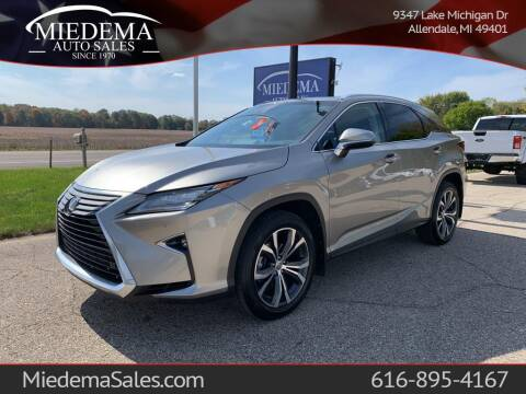 2017 Lexus RX 350 for sale at Miedema Auto Sales in Allendale MI