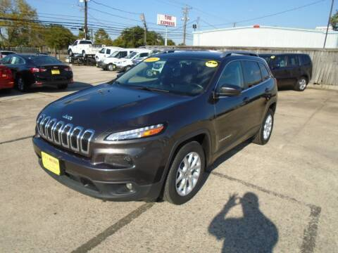 2016 Jeep Cherokee for sale at BAS MOTORS in Houston TX