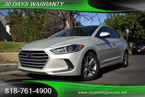 2017 Hyundai Elantra for sale at Prestige Auto Sports Inc in North Hollywood CA