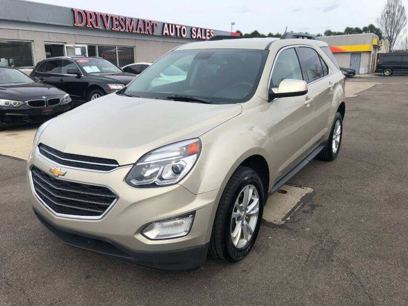 2016 Chevrolet Equinox for sale at DriveSmart Auto Sales in West Chester OH
