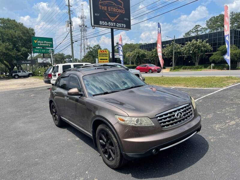 2008 Infiniti FX35 for sale at The Strong St. Moses Auto Sales LLC in Tallahassee FL