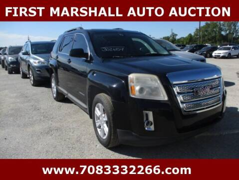 2010 GMC Terrain for sale at First Marshall Auto Auction in Harvey IL