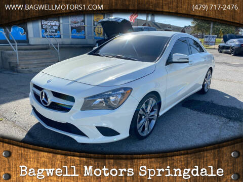 2014 Mercedes-Benz CLA for sale at Bagwell Motors Springdale in Springdale AR