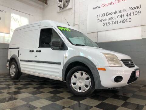2011 Ford Transit Connect for sale at County Car Credit in Cleveland OH