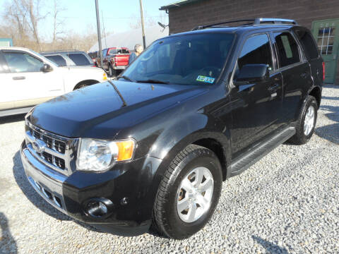 2011 Ford Escape for sale at Sleepy Hollow Motors in New Eagle PA