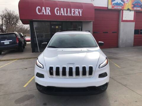 2014 Jeep Cherokee for sale at Car Gallery in Oklahoma City OK