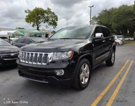 2012 Jeep Grand Cherokee for sale at Start Auto Liquidation Center in Miramar FL