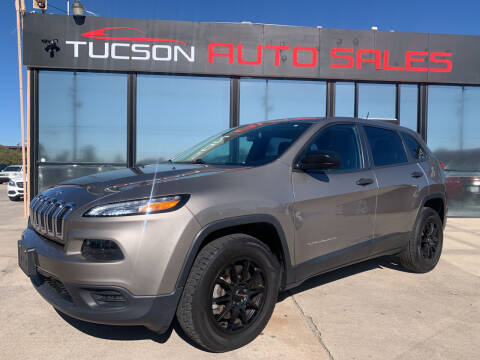 2016 Jeep Cherokee for sale at Tucson Auto Sales in Tucson AZ