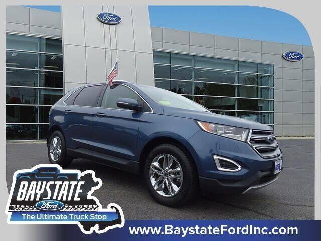 2018 Ford Edge for sale at Baystate Ford in South Easton MA