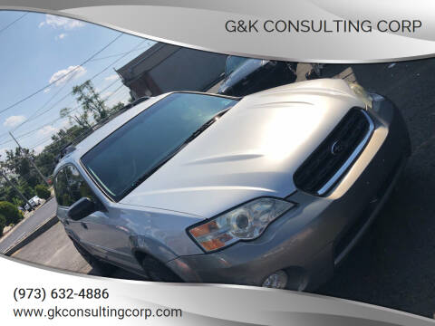 2007 Subaru Outback for sale at G&K Consulting Corp in Fair Lawn NJ