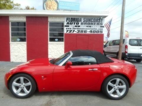 2006 Pontiac Solstice for sale at Florida Suncoast Auto Brokers in Palm Harbor FL
