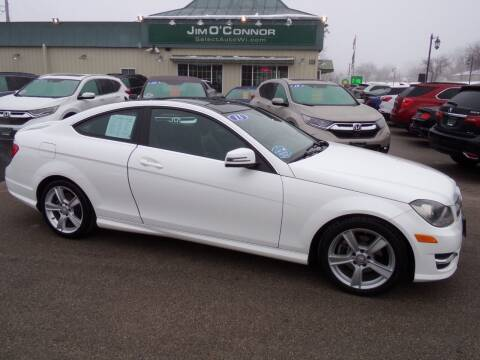 2013 Mercedes-Benz C-Class for sale at Jim O'Connor Select Auto in Oconomowoc WI
