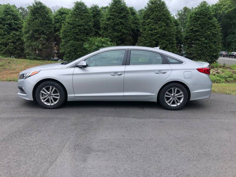 2017 Hyundai Sonata for sale at DON'S AUTO SALES & SERVICE in Belchertown MA