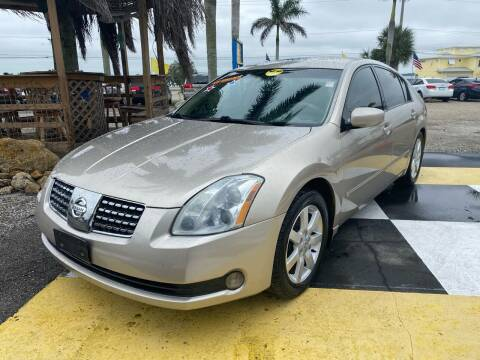 2006 Nissan Maxima for sale at D&S Auto Sales, Inc in Melbourne FL