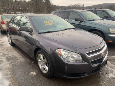2011 Chevrolet Malibu for sale at BURNWORTH AUTO INC in Windber PA