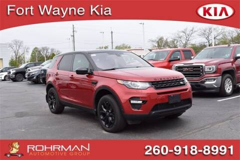 2016 Land Rover Discovery Sport for sale at BOB ROHRMAN FORT WAYNE TOYOTA in Fort Wayne IN