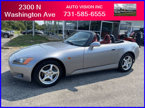2000 Honda S2000 for sale at Auto Vision Inc. in Brownsville TN