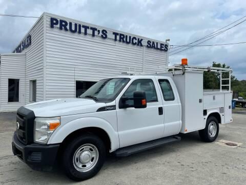 2011 Ford F-250 Super Duty for sale at Pruitt's Truck Sales in Marietta GA