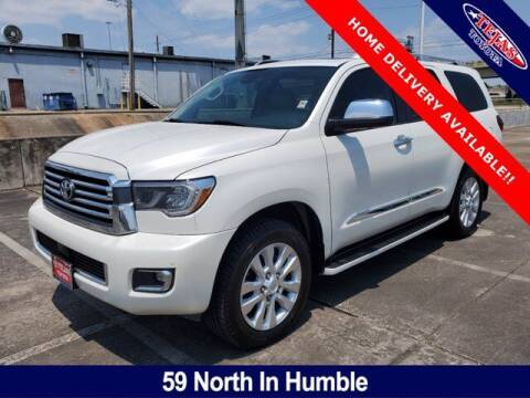 2018 Toyota Sequoia for sale at TEJAS TOYOTA in Humble TX