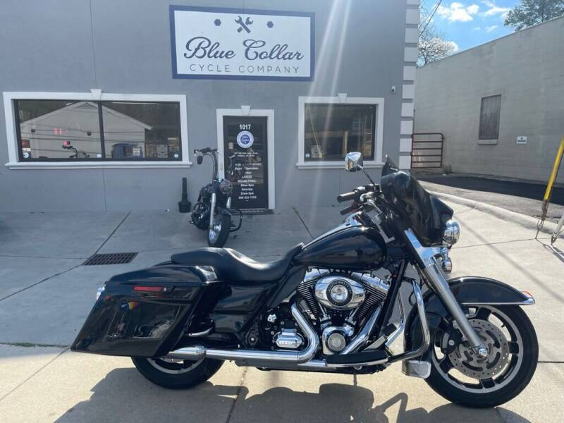 2012 Harley-Davidson Electra Glide for sale at Blue Collar Cycle Company in Salisbury NC