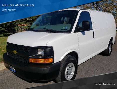2016 Chevrolet Express Cargo for sale at NELLYS AUTO SALES in Souderton PA